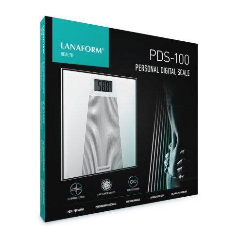 Lanaform PDS-100 üveg személymérleg 180 Kg LA090305