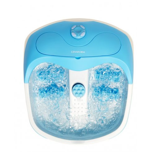 Lanaform vibrációs és buborékos hidromasszázs lábfürdő