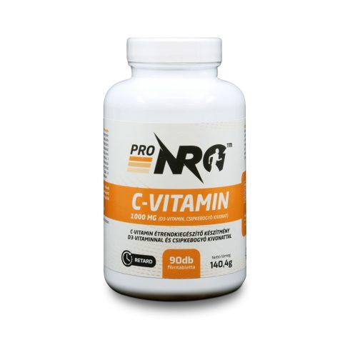 ProNRG C-vitamin 1000mg 90db étrendkiegészítő készítmény D3-vitaminnal és csipkebogyó kivonattal