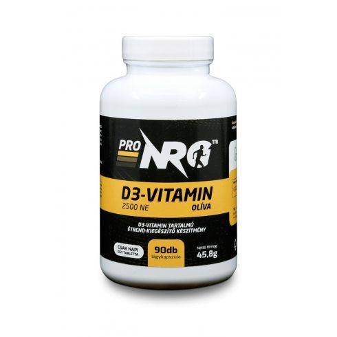 ProNRG D3-Vitamin 2500NE Olíva 90db