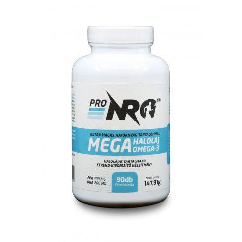 ProNRG Omega 3 halolaj 90 db filmtabletta, EPA 400 mg, DHA 200 mg